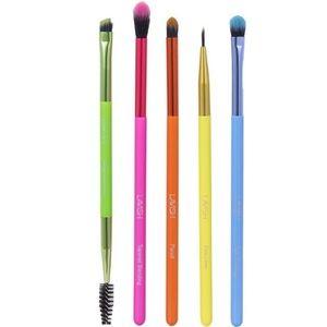 Lavish 5pc Neon Eye Brush set